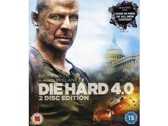 Die Hard 4.0 (2-disc) Action med Bruce Willis, Justin Long, Timothy Olyphant - Höganäs - Die Hard 4.0 (2-disc) Action med Bruce Willis, Justin Long, Timothy Olyphant - Höganäs