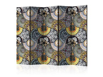 Rumsavdelare - Painted Exoticism II Room Dividers 225x172