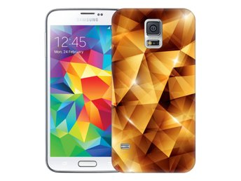 Samsung Galaxy S5 Skal Golden Polygons