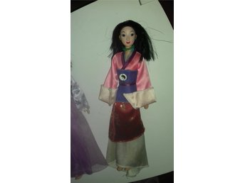 Disney princess mulan docka