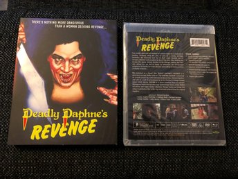 DEADLY DAPHNE'S REVENGE (VINEGAR SYNDROME, LIMITED EDITION 1500EX MED SLIPCOVER)