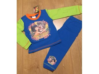 ~Nytt ~Disney Jungle Book Pyjamas Stl 4-5 år ~ London UK~