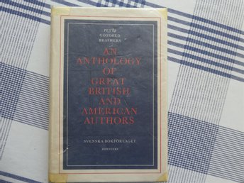 An anthology of great British and American authors, Petti, Gotobed, Brashers1966