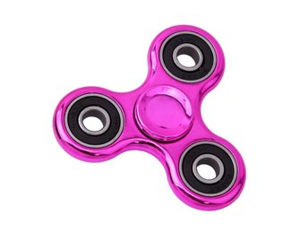 Fidget Spinner Chrome - Rosa