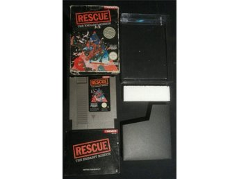 Resque The Embassy Mission - NES 8-bit CIB SCN