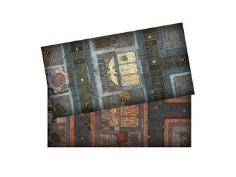 Warhammer 40k: Know No Fear. Dubbelsidigt Gaming Mat ca: 110x56cm