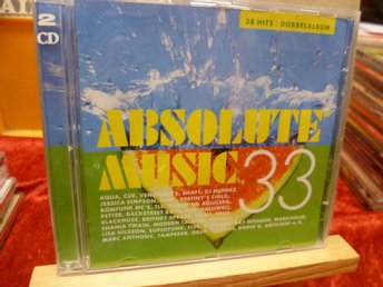ABSOLUTE MUSIC 33 , Dubbel-CD ,