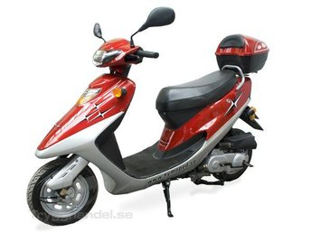EU Moped Spring Wind 50cc - Red