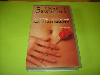 AMERICAN BEAUTY VHS 5 OSCAR