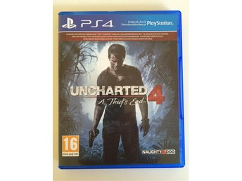 "Uncharted 4 ""A Thief´s End"" - PS4"