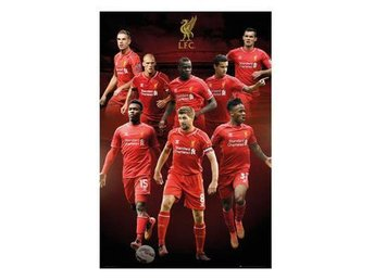 Liverpool Affisch Players 70