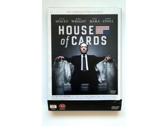 HOUSE OF CARDS - Säsong 1 DVD - Halmstad - HOUSE OF CARDS - Säsong 1 DVD - Halmstad