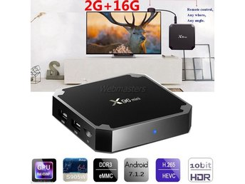 Smart TV Box Android 7.1 Quad Core X96 mini Pro Netflix IPTV Kodi EU Plug 2G+16G