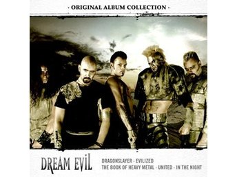 Dream Evil: Original album collection 2002-10 (5 CD)