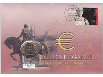 Myntbrev Portugal i Serien The Last National Currency