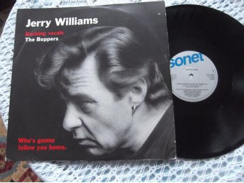 Jerry Williams- Who's Gonna Follow You Home Maxisingel