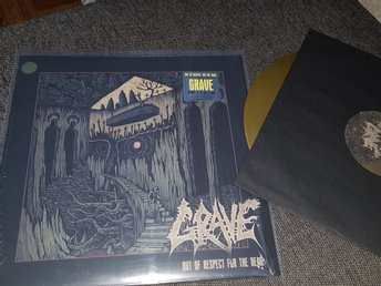 GRAVE - OUT OF RESPECT FOR THE DEAD LTD GOLD 200X NYSKICK