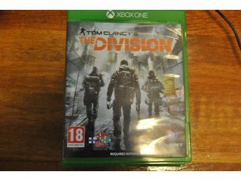 The Division Xbox one Spel