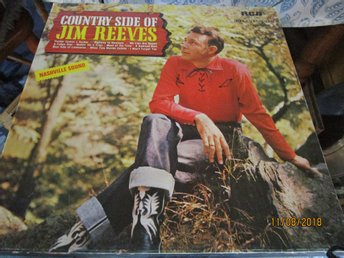 COUNTRY SIDE OF JIM REEVES - LP