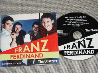Franz Ferdinand - Exclusive 5 Track CD Promo (pappfodral) The Observer