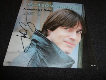 "Jackson Browne - Somebody´s baby - 7"" - 1982 - Signerad"