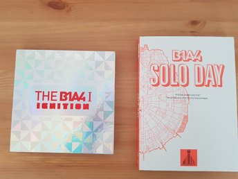 K-pop b1a4 solo day + ignition (inga photocards)