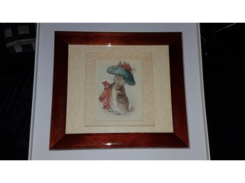 Pictures of living tavla Beatrix Potter Benjamin Bunny