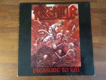 KREATOR - Pleasure to kill Lp (Noise)