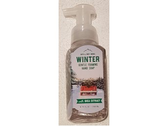 WINTER Bath & Body Works Gentle Foaming Hand Soap skumtvål USA vinter doft tvål