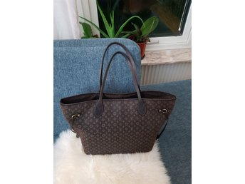 Louis Vuitton Fusain Monogram Idylle canvas never full MM