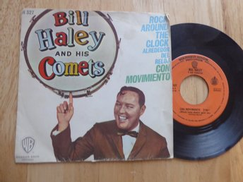 BILL HALEY & HIS COMETS Rock around the clock WB Spanien -68