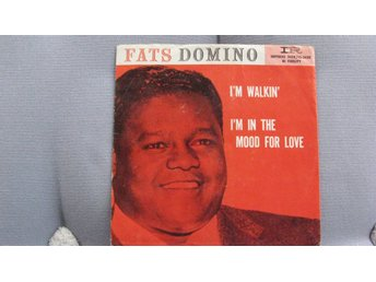 FATS DOMINO    I`M WALKIN´ / I`M IN THE MOOD FOR LOVE   IMPERIAL   1957
