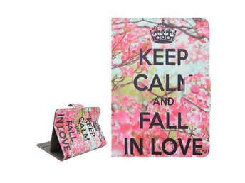 """Keep Calm And Fall In Love - Fodral till 7"""" Surfplatta - Finspång - Keep Calm And Fall In Love - Fodral till 7"""" Surfplatta - Finspång"""