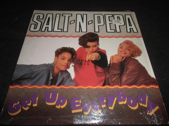 Salt-N-Pepa - Get up everybody/Twist and shout - 12 - 1988