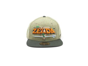 Keps - Nintendo - The Legend of Zelda - 8 Bit Logo Snapback