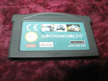 COLIN MCRAE RALLY 2.0 (GAMEBOY ADVANCE)