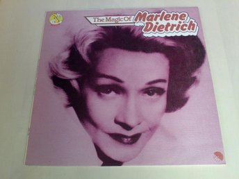 Marlene Dietrich ; THE MAGIC OF  ( Made in UK  )