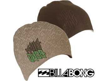 BILLABONG FADER Hatt Keps Stickad Vinter reversibel