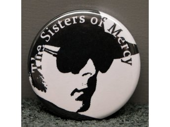 The Sisters of Mercy - badge/pin/knapp - 25 mm