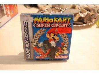 Gameboy Advance. Mario Kart Super Circuit - Emmaboda - Komplett,Svensksålt och i bra skick. Skickas spårbart via Schenker. - Emmaboda