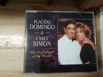 Placido Domingo & Carly Simon - The Last Night Of The World, CD