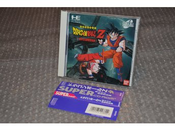Dragon Ball Z - Nec PCengine super CDrom - Japan - jap - jp
