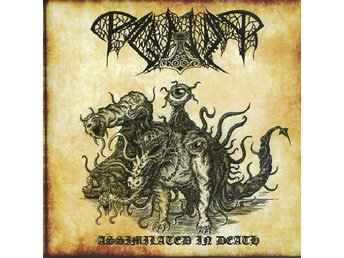 Paganizer ?–Assimilated In Death cd 2017 Death metal Rogga J