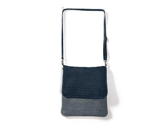 EXKLUSIV MESSENGER BAG - Axelrems Bag i DENIM - HELT NY