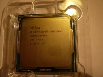 Intel Xeon QUAD CORE E3-1220 v2 - 8M Cache, 3.10 GHz - Socket 1155 Ivy Bridge