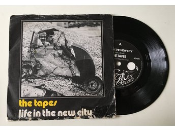 "The Tapes ""Life In The New City"" 1981 RARE"