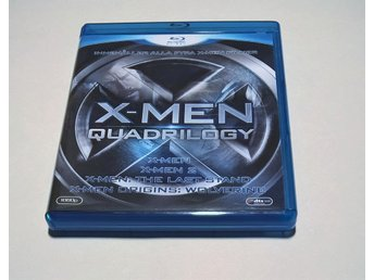 X-Men Quadrilogy - Blu-ray - 2 The Last Stand Origins: Wolverine MARVEL