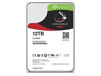 "Seagate IronWolf NAS HDD 3,5"" 12TB, 256MB, 5900RPM"