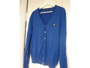 Lyle & Scott, Stickad kofta, str L