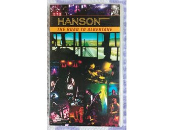 VHS HANSON The Road to Albertane (90-tal, nostalgi, retro)